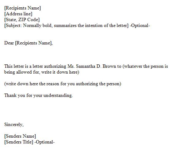 delegation Letter 20