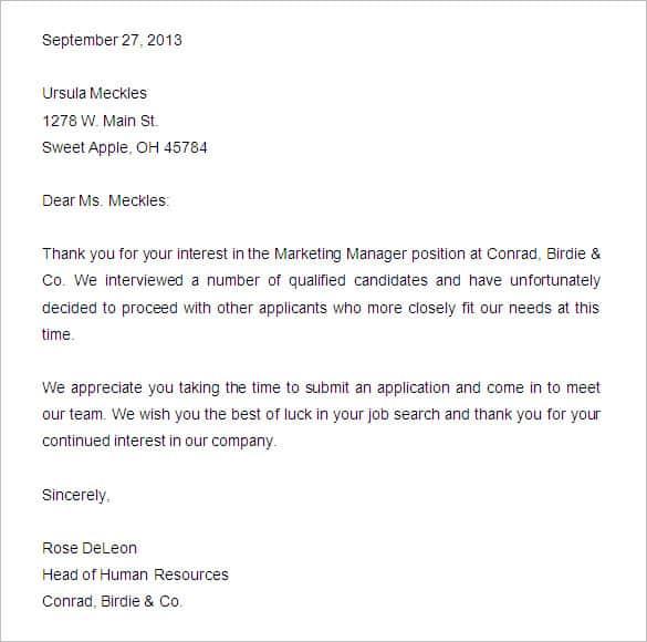 denial letter 50