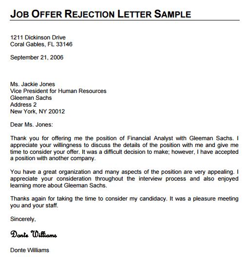 denial letter 90