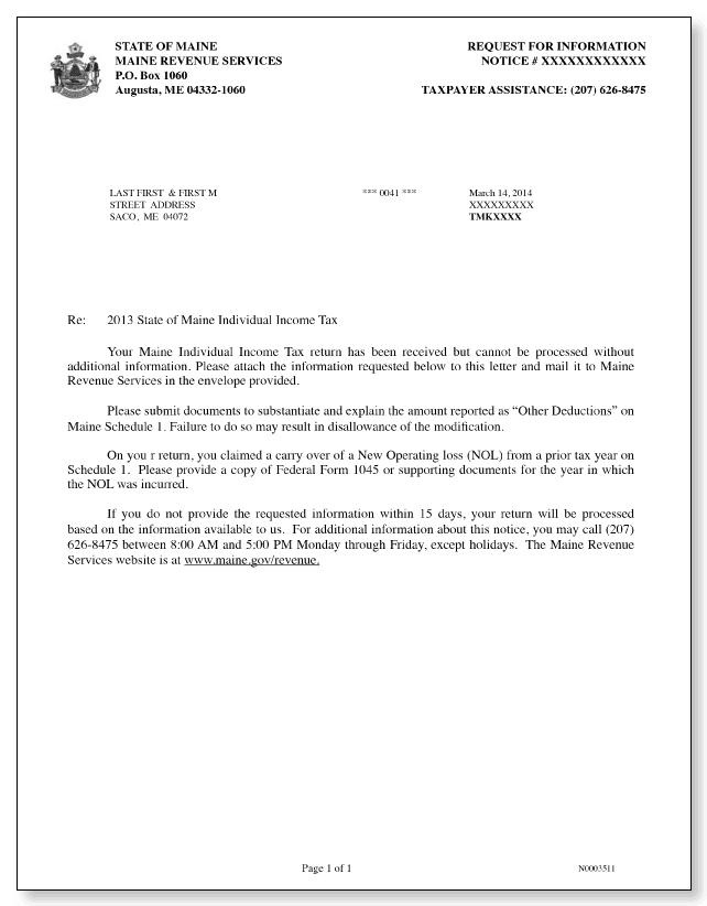 information letter 30