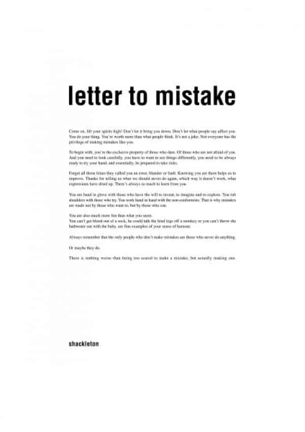 letter of mistake 10