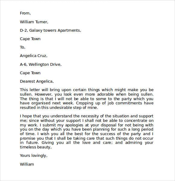 letter of mistake 40