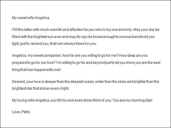love letter 008