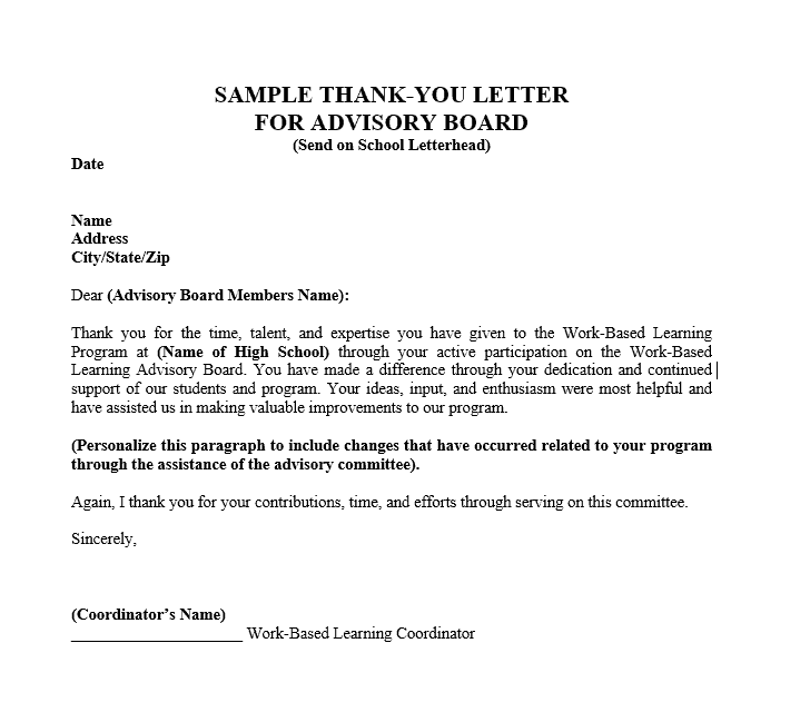 thank you letter 002