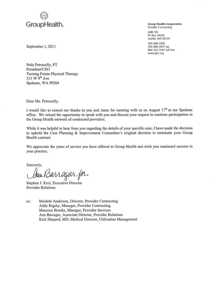 19 termination letter samples  writing letters formats
