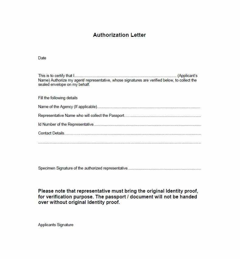 138+ Authorization Letters Samples Download FREE - Writing Letters