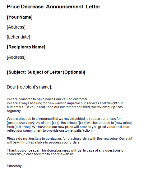 Letter To Potential Customer from www.sampleletterword.com