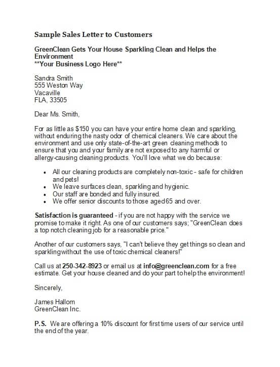Business Sales Letter Sample from www.sampleletterword.com