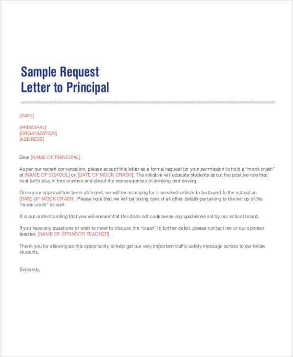 101+ Sample Request Letters - Writing Letters Formats & Examples